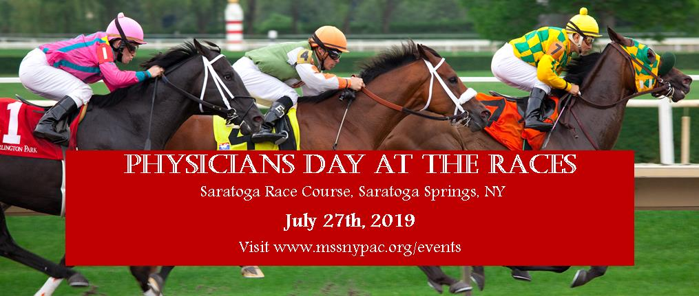 Physicians Day at the Races Banner