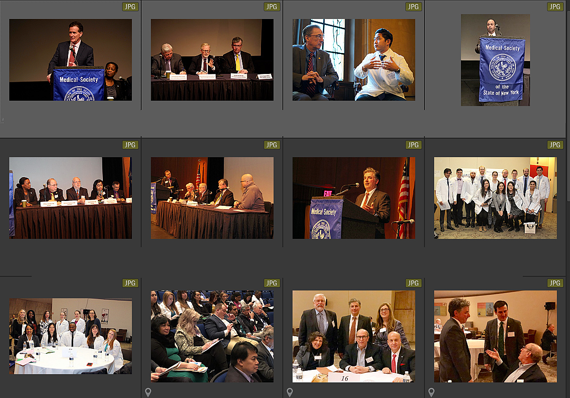 Lobby Day photo collage