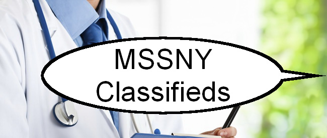 MSSNY Classifieds